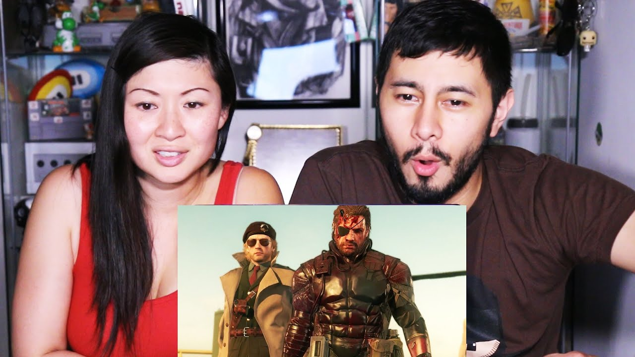 Download MGS FINAL TRAILER Metal Gear Solid V Reaction by Jaby and Faye!