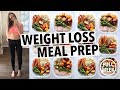WEIGHT LOSS MEAL PREP FOR WOMEN 1 WEEK IN 1 HOUR mp3