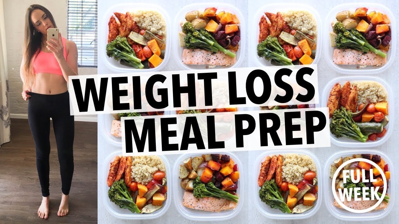 Weight Loss Meal Prep For Women 1 Week In 1 Hour Youtube