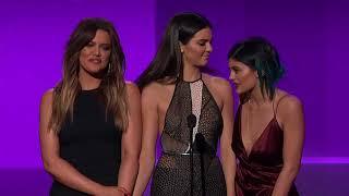 Khloe Kardashian, Kylie and Kendall Jenner Present Favorite Pop Rock Female Artist - AMA 2014