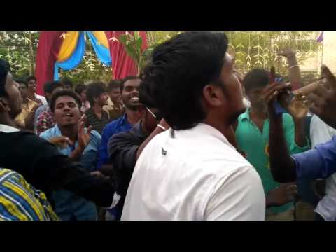 college boys dance for tamilnadu drums  beat