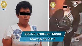 """Autoridades identifican a Lized """"N"""" como una de las personas de más confianza de Oscar Andrés Flores Ramírez, líder de ese grupo criminal en la CDMX"""
