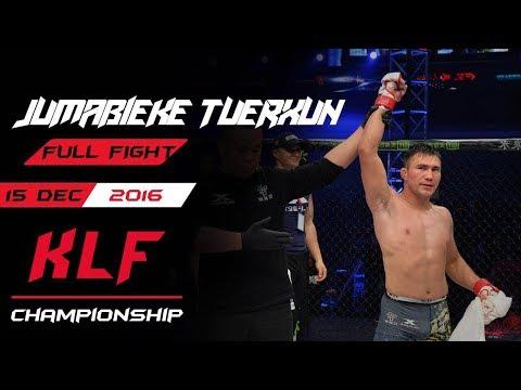 Kickboxing: Jumabieke Tuerxun Vs. Paata Robakidze  FULL FIGHT-2015