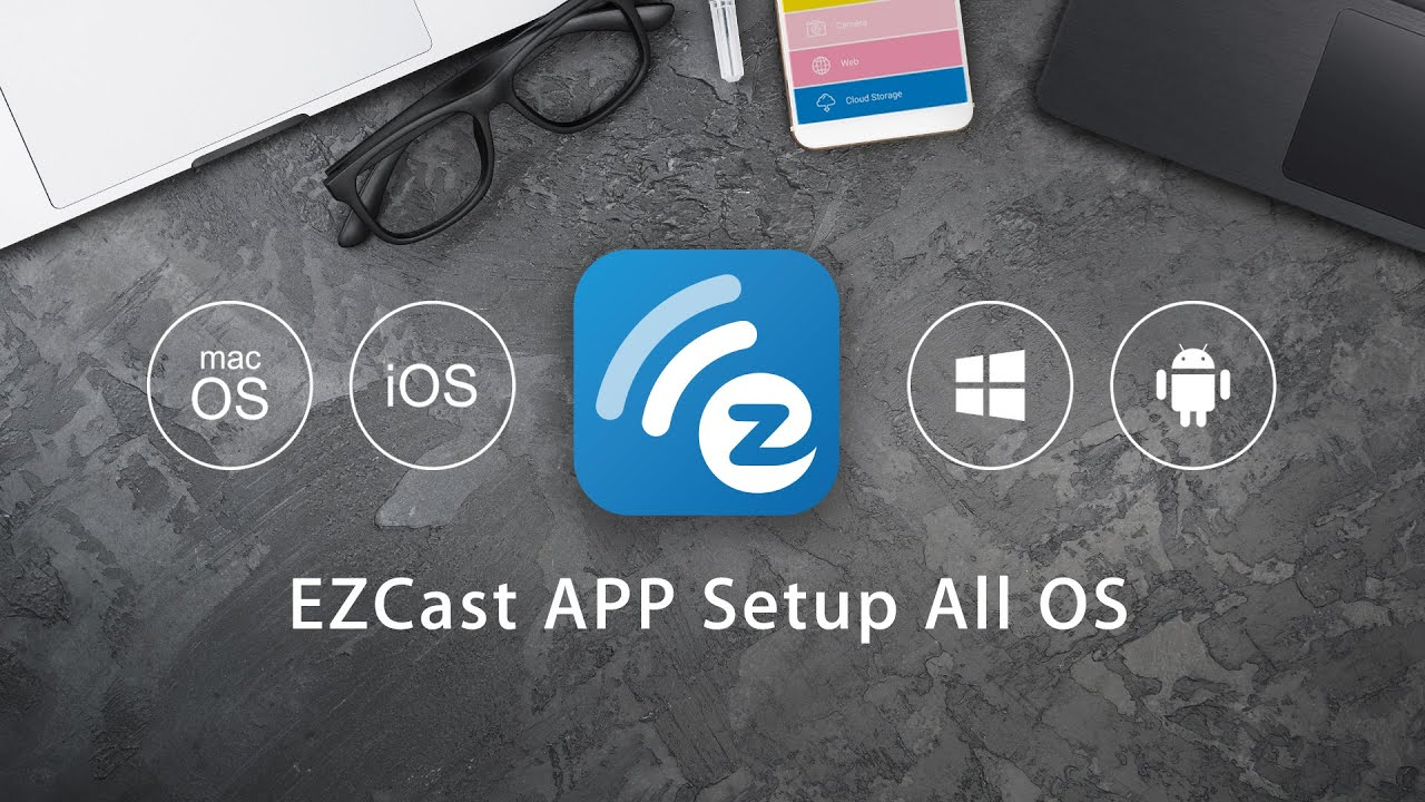 All the app settings for your EZCast