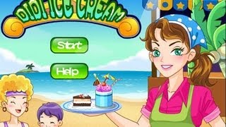 Didi Games Cooking Games - Didi Ice Cream Games for little girl Gameplay