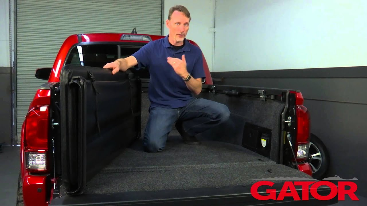 Gator Tri Fold Tonneau Cover Install On A 2016 Tacoma Gatorcovers Com Youtube