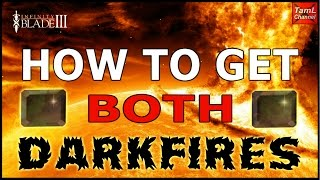 Infinity Blade 3: HOW TO GET BOTH DARKFIRE GEMS!