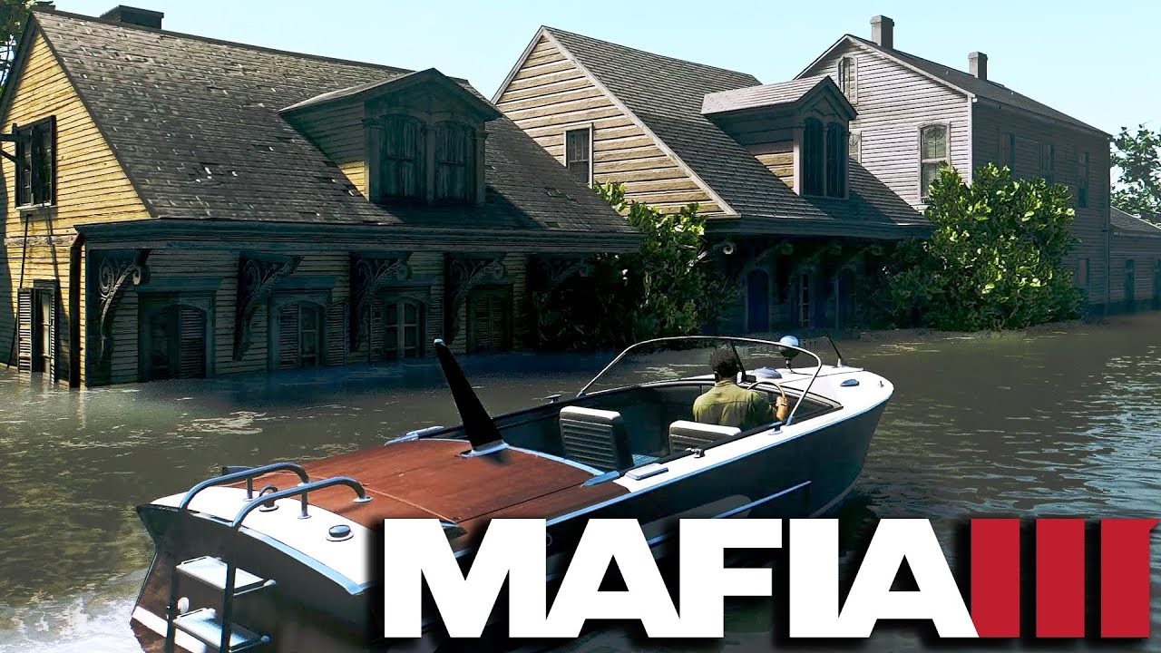 Mafia 3 Secret Location - Flooded Neighborhood