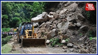 Landslides And Floods Wreak Havoc In Himachal Pradesh | Shatak AajTak
