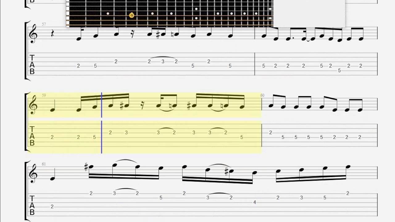 Black Sabbath Planet Caravan Guitar 1 Tablature Youtube