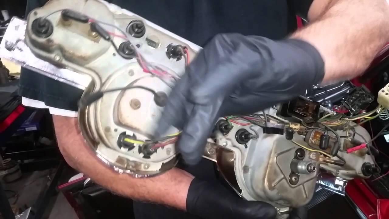 tach wiring bill s 1968 hertz shelby gt350 mustang fastback day 1968 mustang wiring harness 1968 mustang tach wiring [ 1280 x 720 Pixel ]