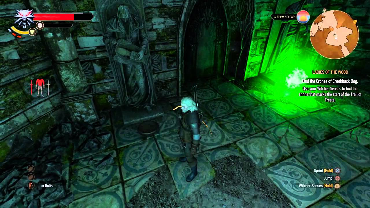 Witcher 3 - magic lamp quest solution. - YouTube