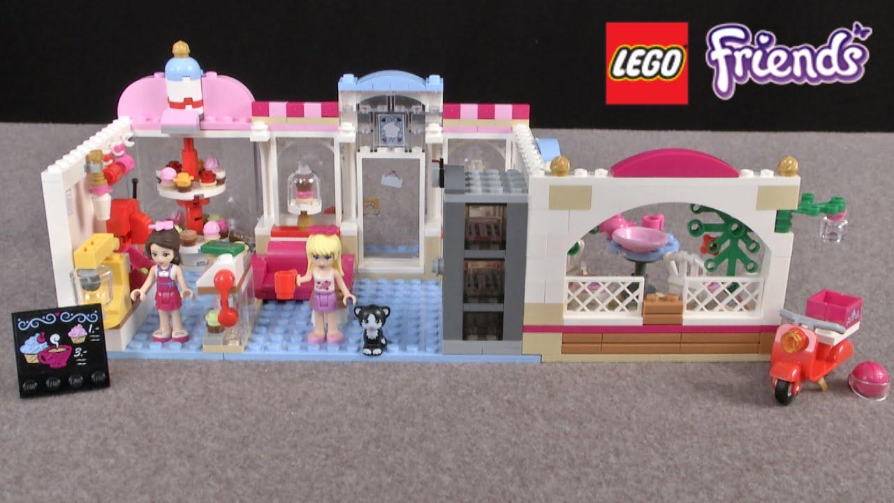 Lego Friends Cake Shop Brithday Cake