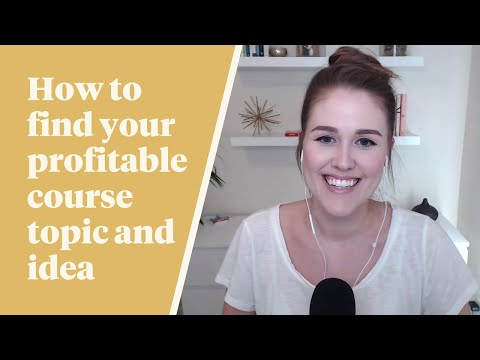 TFS 052: How To Find Your Profitable Course Topic and Idea