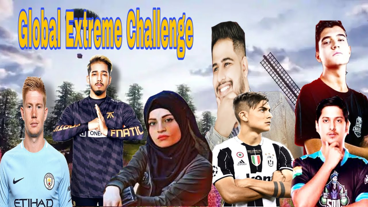 PUBG Mobile - Global Extreme Challnege Highlights 🔥 Ft Dybala And Kevin de bruyne 🇧🇪