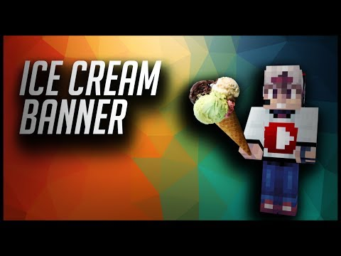 how to make ice cream in mine blocks