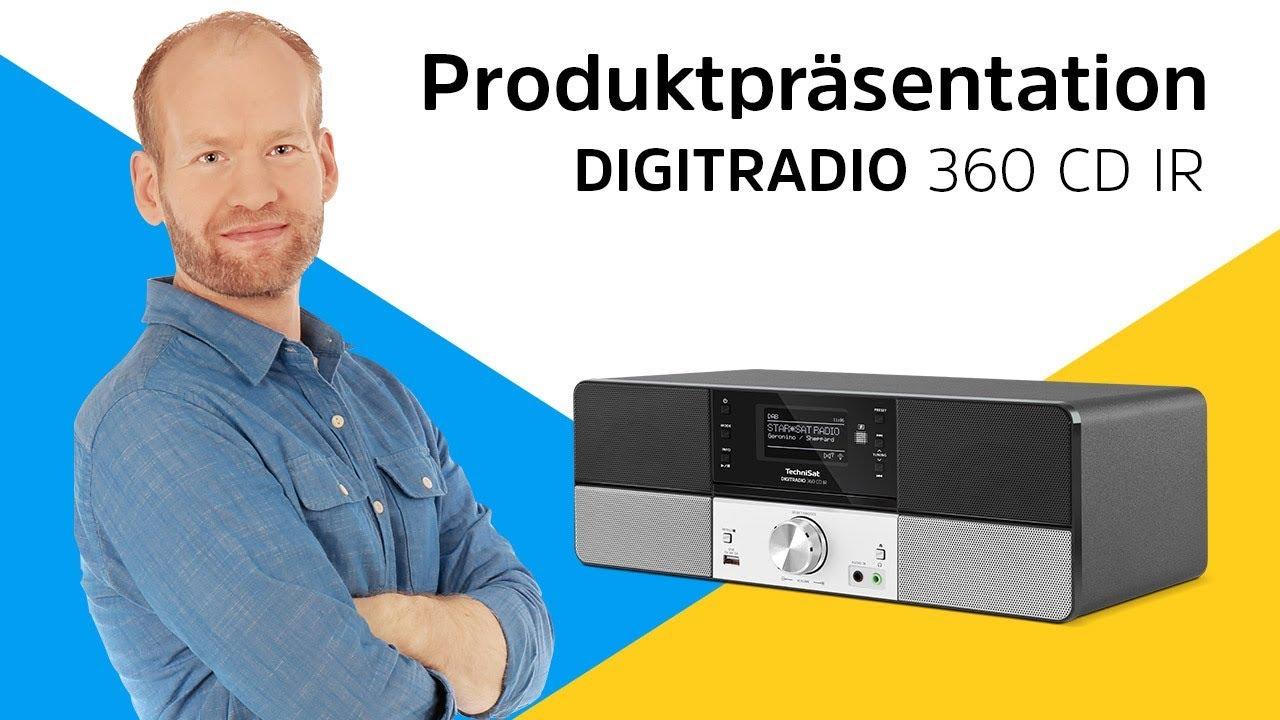 Video: DIGITRADIO 360 / 360 CD / 360 CD IR | Klassische Eleganz und moderne Ausstattung. | TechniSat