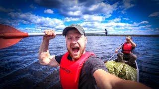 7 Tage Survival Bushcraft Kanu Tour in Schweden #01