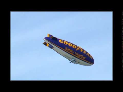 The Goodyear Blimp / airship over Wolverhampton