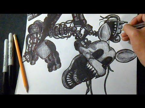 Disegno Mangle Cinque Notti Da Freddy Youtube