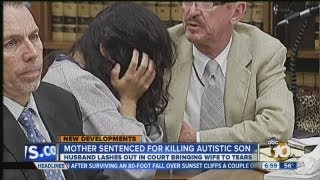 Family members speak out at sentencing for woman who killed autistic son