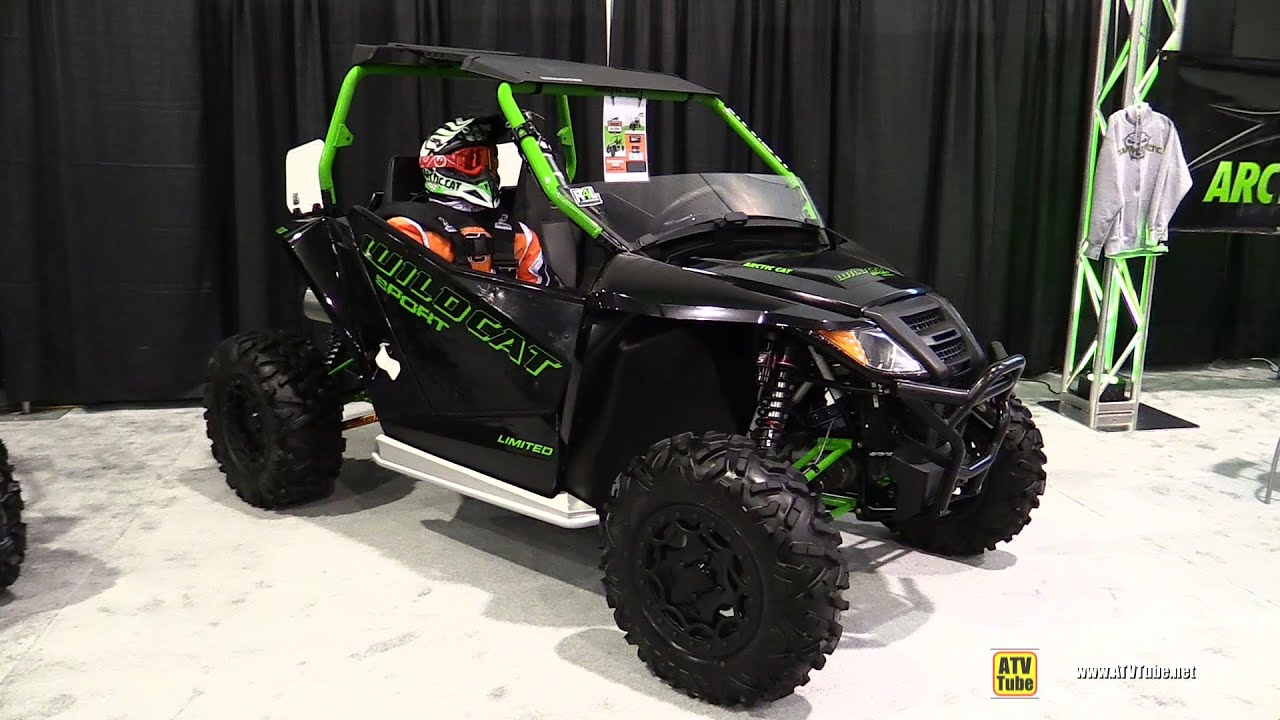 2016 Arctic Cat Wildcat Sport Limited Side by Side ATV ...