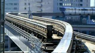 東京モノレール 浜松町 ポイント切り替え映像 thumbnail