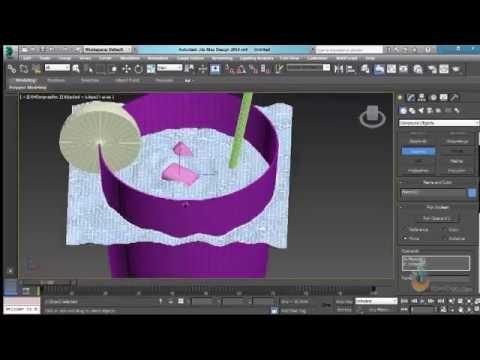 Thực hành 3ds Max - Bài 24: Lệnh Noise - Ứng dụng vẽ mặt nước 3D.