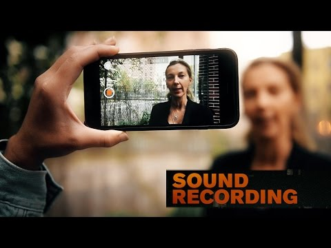 An Activist's Guide to Mobile Video: Sound Recording