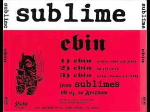 Sublime - Ebin (Radio Edit)