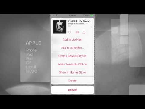 How to Delete Music in iPod Touch iOS 9.0.1 iOS 9