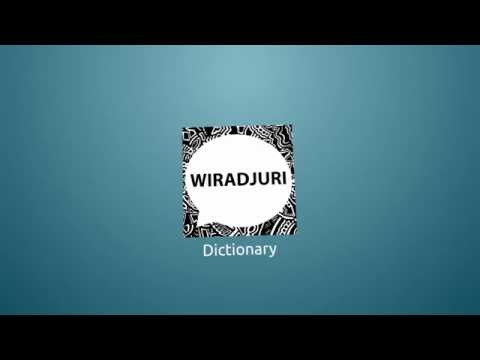 Wiradjuri Dictionary V2.0
