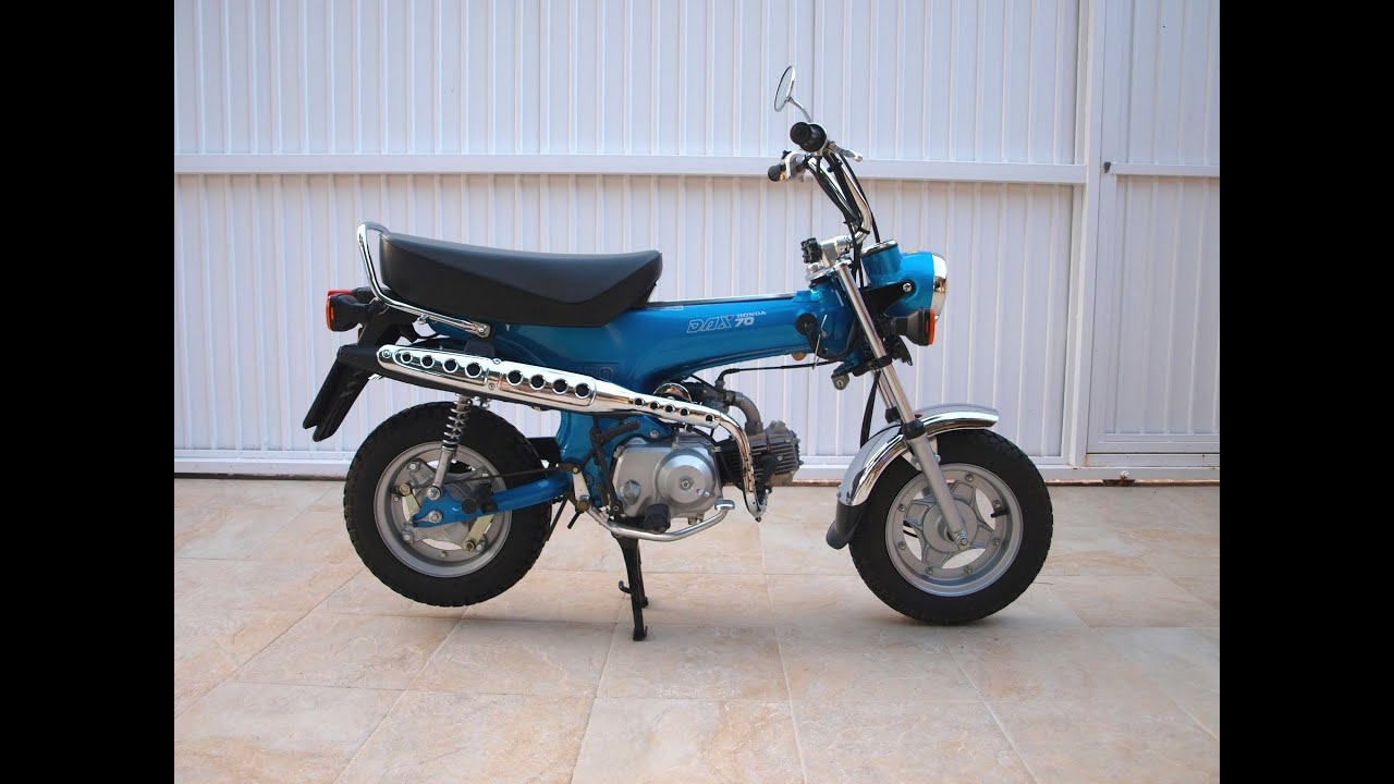 Honda Dax File St50 M My Vi By Sen007 Mini St70 Wiring Diagram Ruta Abril Youtube
