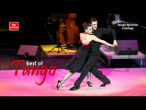 "Milonga ""Flor de Monserrat"". Fernando Gracia and Sol Cerquides with ""Solo Tango"" orchestra. Танго."