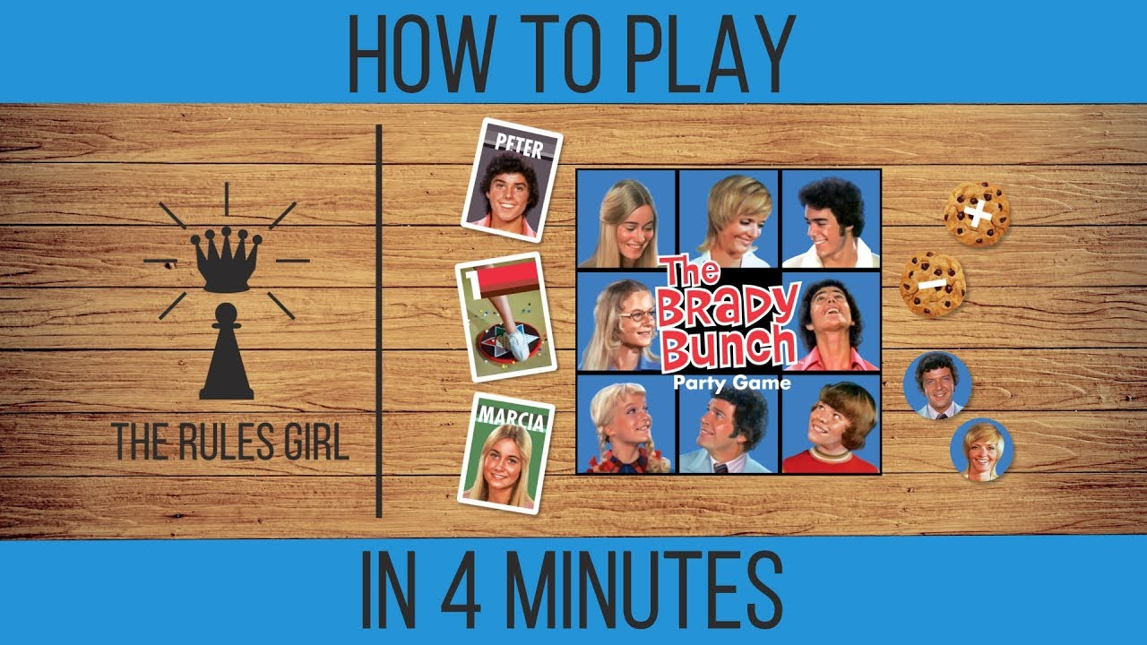 The Brady Bunch Party Game - Big G Creative