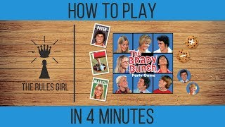 How to Play The Brady Bunch Party Game in 4 Minutes - The Rules Girl