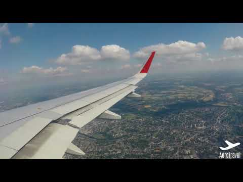 AEROFLOT RUSSIAN AIRLINES GO AROUND At SUNNY DÜSSELDORF AIRPORT A320 HD