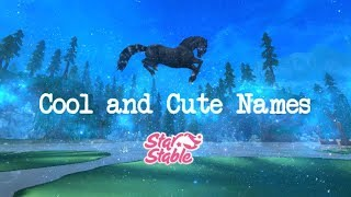 Cool and Cute SSO Horse Name Ideas!