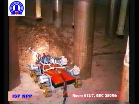 Robot inside Chernobyls Sarcophagus - Робот в Чернобыльском Саркофаге