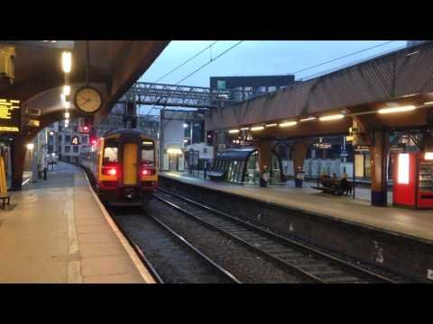 Central Trains To Nottingham At Oxford Rd Manchester
