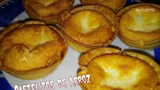 PASTELITOS DE ARROZ RECETA FACIL - EASY RECIPE RICE PASTELS #brujillahealtlife