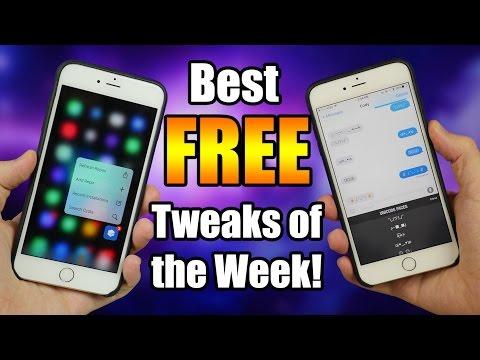 Best FREE Tweaks of the Week! iOS 9 - 9.0.2