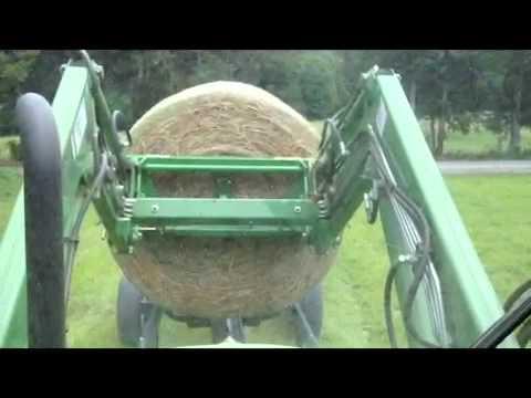 Self Unloading Hay Trailer