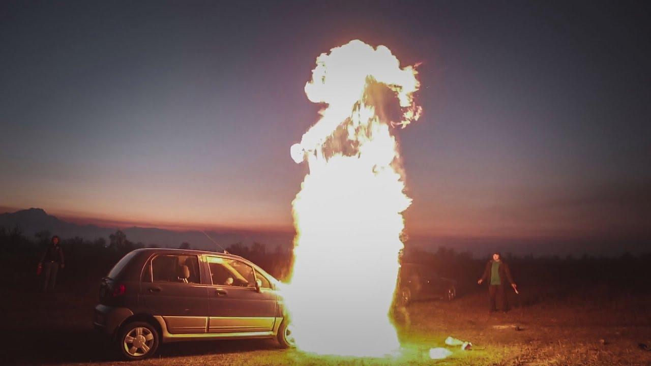 Что будет если залить АВИАЦИОННЫЙ БЕНЗИН. #Авточелендж