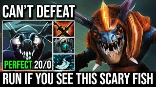 Unkillable Monster Slark Blink Build - Run If You See This Scary Fish 20KIlls No Death By Moo Dota 2