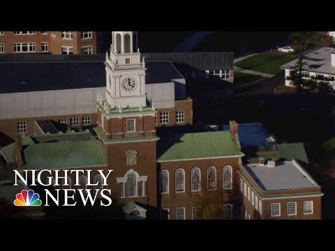 Dartmouth Students Claim In Lawsuit Professors Sexually Abused Them | NBC Nightly News