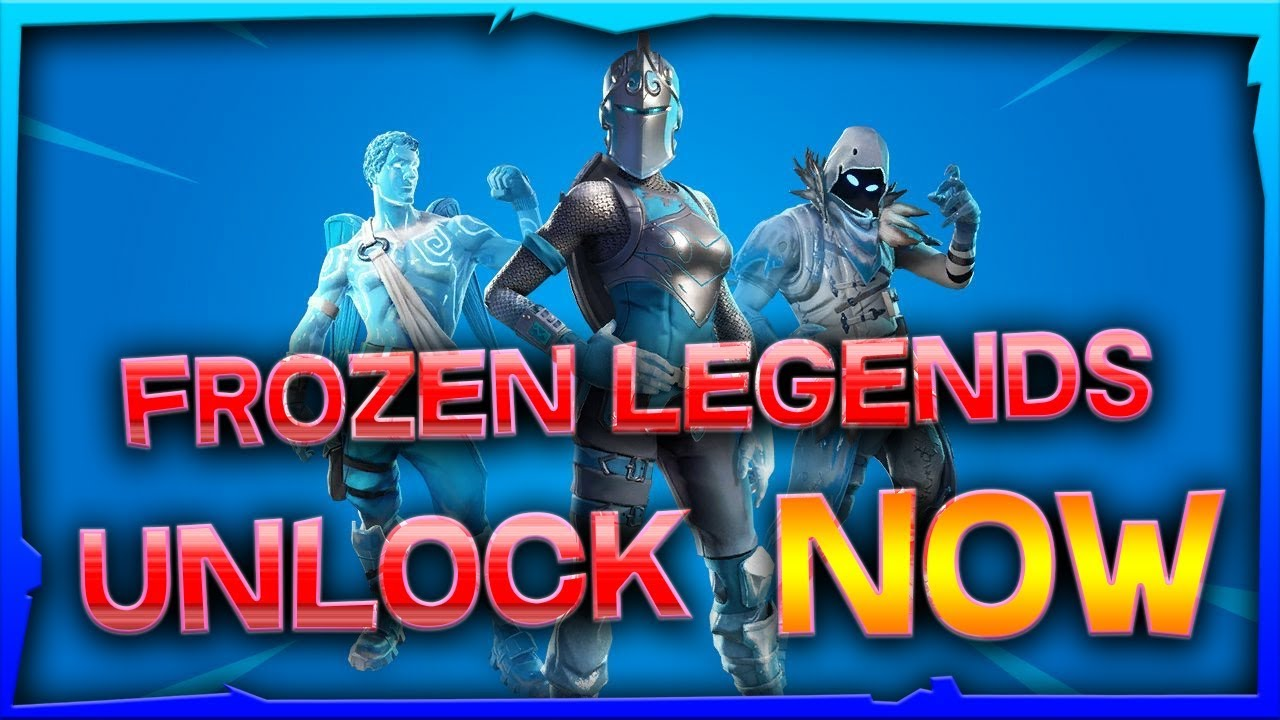 Easy How To Unlock The Frozen Legends Pack Now Youtube