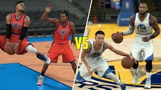 Can The Cavaliers and Warriors Beat Every Other Team Combined? NBA 2K17 Gameplay!