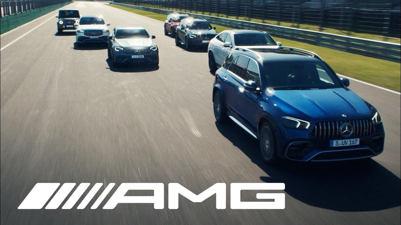 Mercedes-AMG SUV Range – Not an SUV. An AMG.