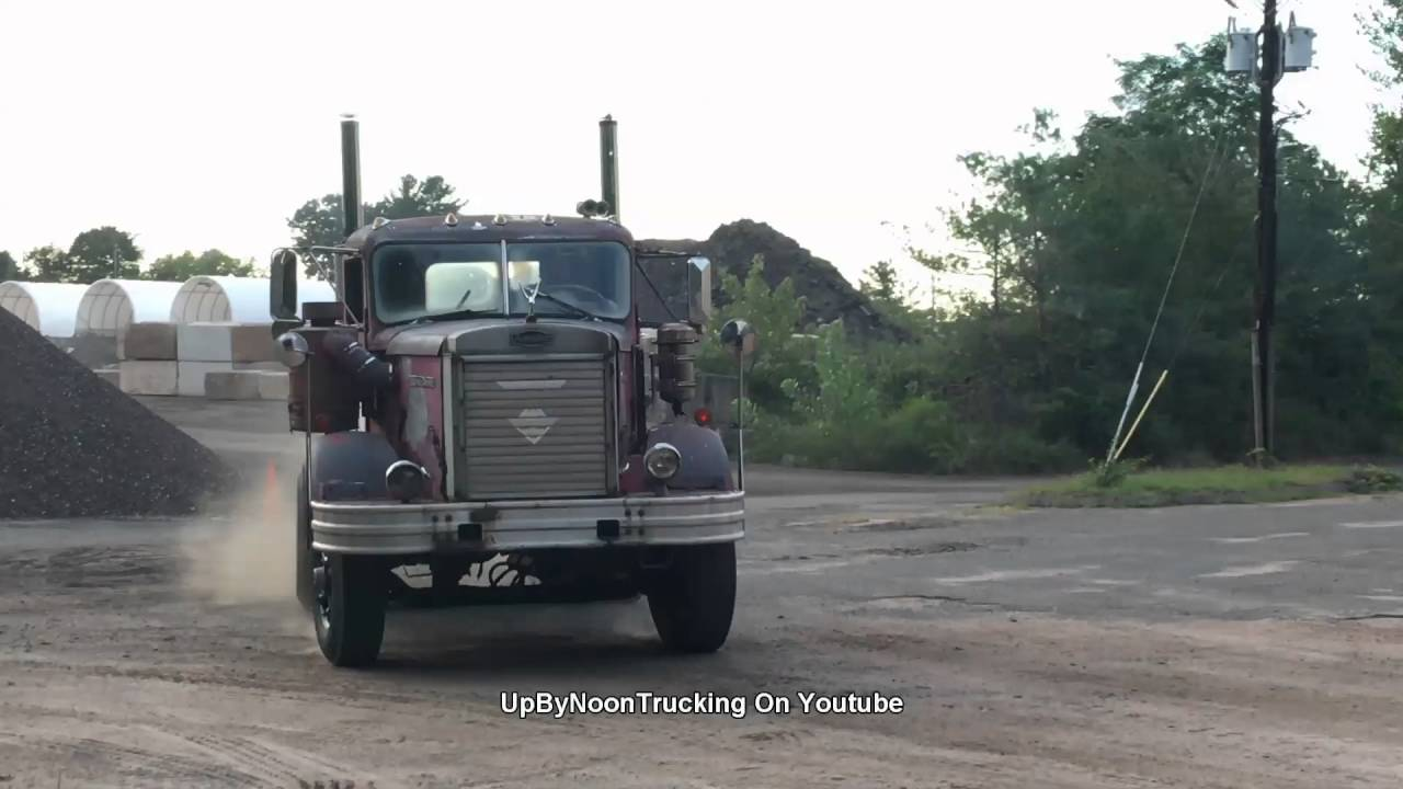 6 Door Truck >> Autocar 8v71 Detroit Diesel - YouTube